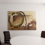 Painting Abstract Forms Texture On Canvas Canvas Art Wall Decor