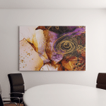 Unique Creativity Artgold Inspired By Sky Canvas Art Wall Decor