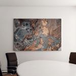 Luxury Art Eastern Style Golden Swirl Canvas Art Wall Decor