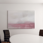 Pink Grey Abstract Art Painting Modern Canvas Art Wall Decor
