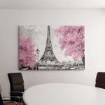 Oil Painting Paris European City Landscape Canvas Art Wall Decor