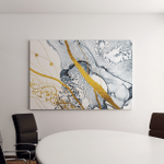 Masterpiece Designing Art Abstract Clouds Transparent Canvas Art Wall Decor