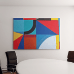 Street Art Abstract Painting On Wall Canvas Art Wall Decor