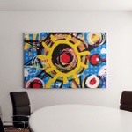 Abstract Art Background Canvas Art Wall Decor