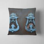 Decorative Elements Set Two Vintage Iron Pillow Case Cover