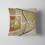 Decorative Tiles Perspective Blurred Pillow Case Cover