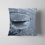 Detail Frozen Car Handle Snowflakes Pillow Case Cover