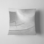 Detail Skatepark Minimalistic Wavy Lines Background Pillow Case Cover