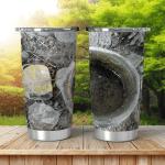 Earthen Pot Drinking Water Bird Nature Shining Tumbler