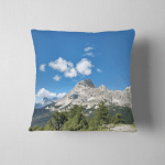 Dolomiti Mountain Alps Part Unesco World Pillow Case Cover