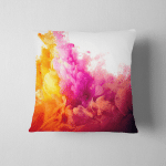 Splash Paint Abstract Background Pillow Case Cover