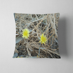 Yellow Flowers Imagenatural Beautyawesome Natural Backgroundbeautiful Pillow Case Cover