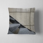 Steel Stairs Next Concrete Wall Way Pillow Case Cover