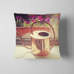 Still Life Copper Watery Can On Pillow Case Cover