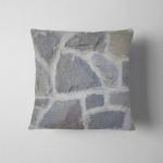 Stone Wall Masonry Real Italian House Pillow Case Cover