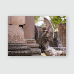 Phanom Rung Historical Park Decorated Dragon Poster, Pillow Case, Tumbler, Sticker, Ornament
