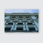 Building Facade Beautiful Stucco Molding Over Poster, Pillow Case, Tumbler, Sticker, Ornament