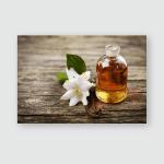 Essential Oil Jasmine Flower Vanilla Poster, Pillow Case, Tumbler, Sticker, Ornament