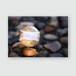 Eucharist Symbol Bread Wine Chalice Host Poster, Pillow Case, Tumbler, Sticker, Ornament