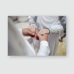 Female Male Hand Image Mehendi Henna Poster, Pillow Case, Tumbler, Sticker, Ornament