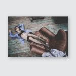 Female Boudoir Shoots Poster, Pillow Case, Tumbler, Sticker, Ornament