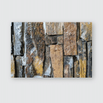 Abstract Texture Grunge Wall Multicolor Brick Poster, Pillow Case, Tumbler, Sticker, Ornament