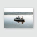 Lifestyle Coastal Fishermen Calm Simple Free Poster, Pillow Case, Tumbler, Sticker, Ornament