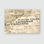 Carmichael California Usa Poster, Pillow Case, Tumbler, Sticker, Ornament