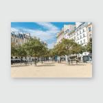 Place Dauphine Beautiful On Ile De Poster, Pillow Case, Tumbler, Sticker, Ornament