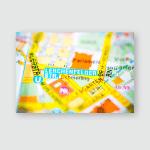 Lerchenfelder Street Vienna Austria Poster, Pillow Case, Tumbler, Sticker, Ornament
