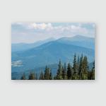 Carpathian Mountains View Chornohora Range Mount Poster, Pillow Case, Tumbler, Sticker, Ornament