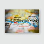 Les Mureaux On Map Poster, Pillow Case, Tumbler, Sticker, Ornament