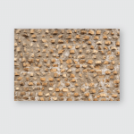 Texture Aged Brick Fragments Wall Vintage Poster, Pillow Case, Tumbler, Sticker, Ornament