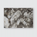 Original Sumbing Mountain Stone Poster, Pillow Case, Tumbler, Sticker, Ornament