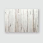 White Vintage Wood Background Poster, Pillow Case, Tumbler, Sticker, Ornament