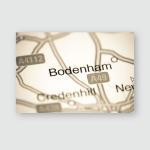 Bodenham United Kingdom On Map Poster, Pillow Case, Tumbler, Sticker, Ornament