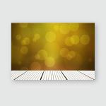 White Wooden Planks Leading Towards Colourful Poster, Pillow Case, Tumbler, Sticker, Ornament