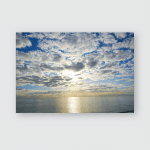 Dramatic Sky English Channel Seen Popular Poster, Pillow Case, Tumbler, Sticker, Ornament