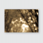 Bokeh Background Tree Abstract Backgroundsepia Tone Poster, Pillow Case, Tumbler, Sticker, Ornament