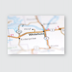 Whitfield Oklahoma Usa On Geography Map Poster, Pillow Case, Tumbler, Sticker, Ornament