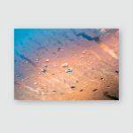 Droplets Colorful Macro On Window Amazing Poster, Pillow Case, Tumbler, Sticker, Ornament