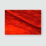 Intense Red Silk Textile Close Fine Poster, Pillow Case, Tumbler, Sticker, Ornament
