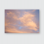 Interesting Sunrise Red Pink Clouds On Poster, Pillow Case, Tumbler, Sticker, Ornament