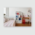 Interior Childs Room Pastel Colors Poster, Pillow Case, Tumbler, Sticker, Ornament