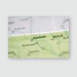 Bowbells North Dakota Usa Poster, Pillow Case, Tumbler, Sticker, Ornament