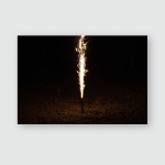 Sky Pyrotechnic Poster, Pillow Case, Tumbler, Sticker, Ornament