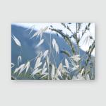 Wild Flowers Mountain Top Closeup Poster, Pillow Case, Tumbler, Sticker, Ornament