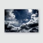 Sky Cloudssky Clouds Sun Poster, Pillow Case, Tumbler, Sticker, Ornament