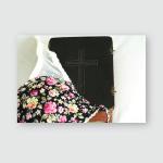 Bra Bible Composition Poster, Pillow Case, Tumbler, Sticker, Ornament