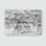 Bradford Pennsylvania Poster, Pillow Case, Tumbler, Sticker, Ornament
